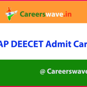 AP DEECET Admit Card