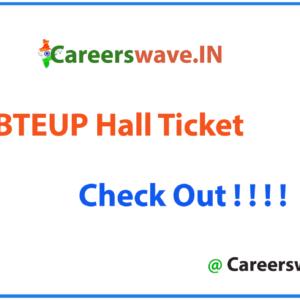 BTEUP Hall Ticket