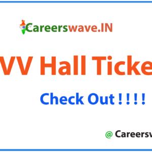 DAVV Hall Ticket