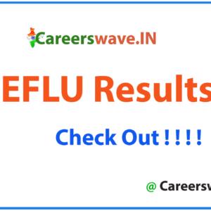 EFLU Results