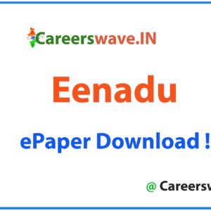 Eenadu Newspaper pdf
