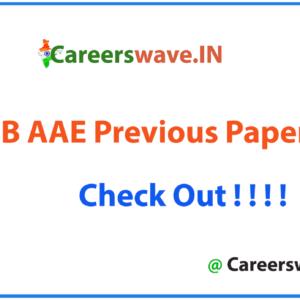 GSSSB AAE Previous Papers PDF