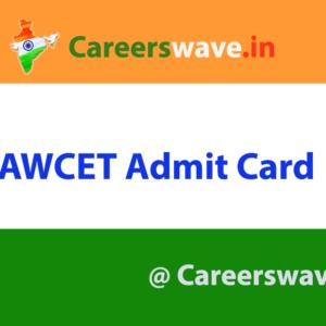 LAWCET Admit Card