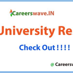 MS University Result