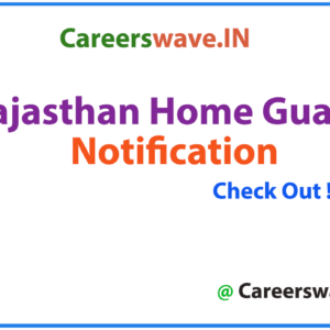 Rajasthan Home Guard Notification