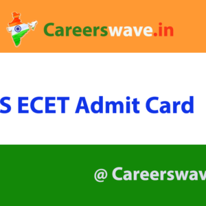 TS ECET Admit Card