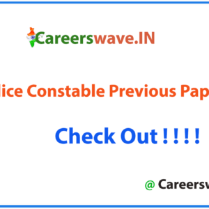 WB Police Constable Previous Papers PDF