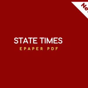State Times ePaper PDF